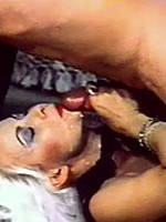 Two horny seventies ladies enjoying two big stiffy cocks